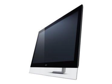 "Acer T272HUL - LED-Monitor - 68.6 cm (27"") - Multi-Touch - 2560 x 1440 - 100 Mio:1 (dyn.) - 5 ms - HDMI, DVI - Lautsprecher - Schwarz"