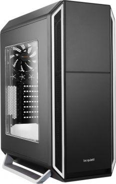 Be Quiet! Silent Base 800 - schallgedämmt - Tower - ATX - ohne Netzteil - Silber - USB/Audio - mit Sichtfenster