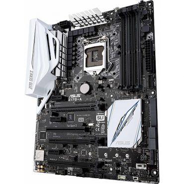 ASUS Z170-A - Motherboard - ATX LGA1151 Socket - Z170 - USB 3.0 - USB 3.1 - USB-C - Gigabit LAN - Onboard-Grafik (CPU erforderlich) - HD Audio