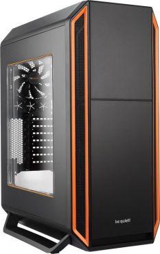 be quiet! Silent Base 800 - schallgedämmt - Tower - ATX - ohne Netzteil - Orange - USB/Audio - mit Sichtfenster