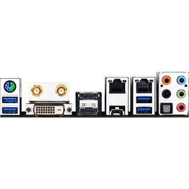 Gigabyte GA-Z170N-WIFI - 1.0 - Motherboard - Mini-ITX - LGA1151 Socket - Z170 - USB 3.0, USB-C - Bluetooth, 2 x Gigabit LAN, Wi-Fi - Onboard-Grafik