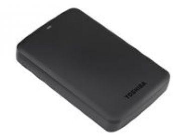 "Toshiba Canvio Basics - Festplatte - 3 TB - extern ( tragbar ) - 6.4 cm ( 2.5"" ) - USB 3.0 - Schwarz"