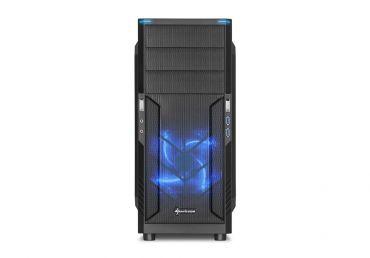Sharkoon T3-V - Midi Tower - ATX - ohne Netzteil - USB/Audio