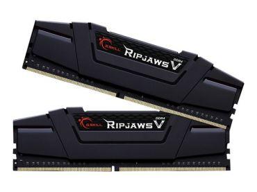 G.Skill Ripjaws V - F4-3200C16D-16GVK - DDR4 - 16 GB : 2 x 8 GB - DIMM 288-PIN - 3200 MHz / PC4-25600 - CL16 - 1.35 V - ungepuffert - nicht-ECC