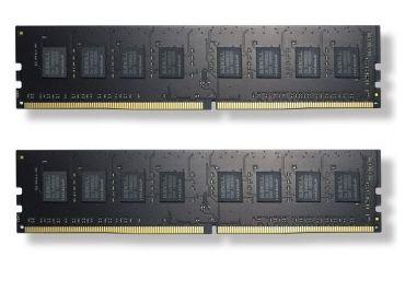 G.Skill Value - DDR4 - 16 GB: 2 x 8 GB - DIMM 288-PIN - 2400 MHz / PC4-19200 - CL15 - 1.2 V - ungepuffert - nicht-ECC