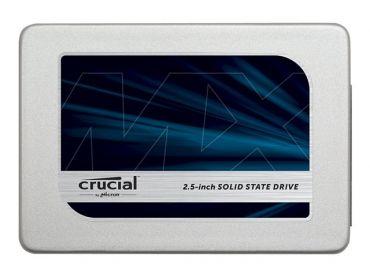 "Crucial MX300 - Solid-State-Disk - verschlüsselt - 1 TB - intern - 6.4 cm ( 2.5"" ) - SATA 6Gb/s - 256-Bit-AES - TCG Opal Encryption 2.0"