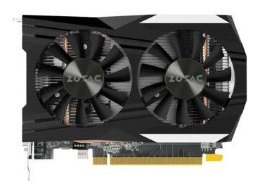 Zotac GeForce GTX 1050 Ti OC Edition - Grafikkarte - GF GTX 1050 Ti - 4 GB GDDR5 - PCI Express 3.0 x16 - DVI, HDMI, DisplayPort