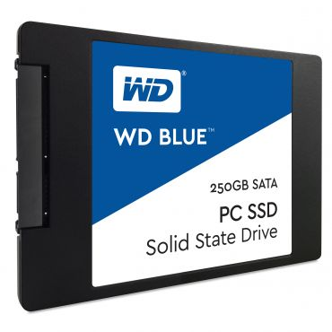 "WD Blue PC SSD WDS250G1B0A - Solid-State-Disk 250 GB - intern - 6.4 cm (2.5"") - SATA 6Gb/s"