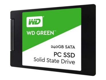 "WD Green PC SSD WDS240G1G0A - Solid-State-Disk - 240 GB - intern - 6.4 cm (2.5"") - SATA 6Gb/s"