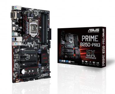 ASUS PRIME B250-PRO - Motherboard - ATX - LGA1151 Socket - B250 - USB 3.1 - Gigabit LAN - Onboard-Grafik (CPU erforderlich) - HD Audio