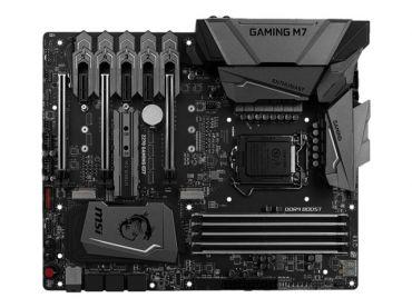 MSI Z270 GAMING M7 - Motherboard - ATX - LGA1151 Socket - Z270 - USB 3.1 - Gigabit LAN - Onboard-Grafik (CPU erforderlich) - HD Audio (8-Kanal)