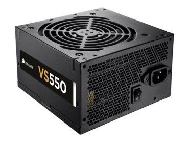 Corsair VS Series VS550 - Stromversorgung ( intern ) - ATX12V 2.3/ EPS12V - 80 PLUS - Wechselstrom 200-240 V - 550 Watt - aktive PFC -