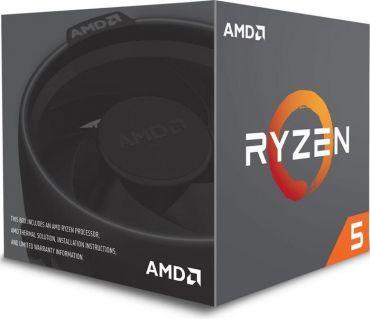 AMD Ryzen 5 1600 - 3.2 GHz - 6-Core - 12 Threads - 16 MB Cache-Speicher - Socket AM4 - Box