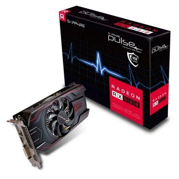 Sapphire Pulse Radeon RX 560 - Grafikkarte - Radeon RX 560 - 4 GB GDDR5 - PCIe 3.0 x16 - DVI - HDMI - DisplayPort - Lite Retail