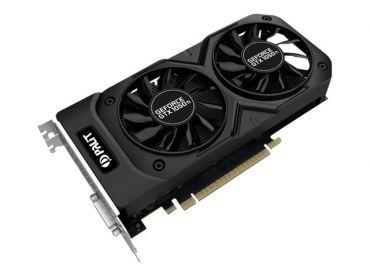 Palit GeForce GTX 1050 Ti Dual OC Grafikkarten - GF GTX 1050 Ti - 4 GB GDDR5 - PCIe 3.0 x16 - DVI - HDMI - DisplayPort