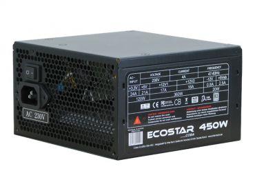 Inter-Tech Coba EcoStar 400W - Stromversorgung (intern) ATX12V 2.3 - 80 PLUS - Wechselstrom 230 V - 400 Watt - aktive PFC