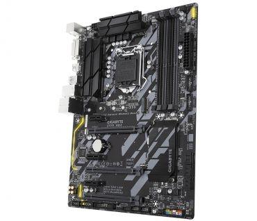 Gigabyte Z370 HD3 - 1.0 - Motherboard - ATX - LGA1151 Socket - Z370 - USB 3.1 Gen 1 - Gb LAN - Onboard-Grafik (CPU erforderlich) - HDMI, DVI
