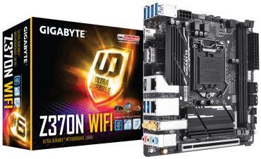 Gigabyte Z370N WIFI - 1.0 - Motherboard - Mini-ITX - LGA1151 Socket - Z370 - USB 3.1 - Bluetooth - 2x Gb LAN - Wi-Fi - Onboard-Grafik (CPU erforderl.)