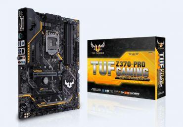 ASUS TUF Z370-PRO GAMING - Motherboard ATX - LGA1151 Socket - Z370 - USB 3.1 - Gb LAN - Onboard-Grafik (CPU erforderlich) - HD Audio (8-Kanal)