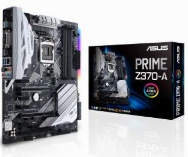 ASUS PRIME Z370-A - Motherboard ATX - LGA1151 Socket - Z370 - USB 3.1 - Gb LAN - Onboard-Grafik (CPU erforderlich) - HD Audio (8-Kanal)