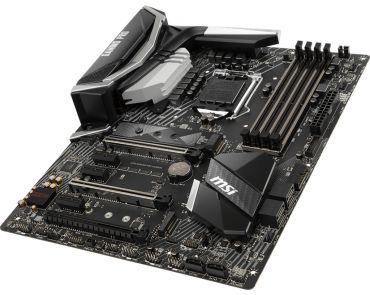 MSI Z370 GAMING PRO CARBON - Motherboard ATX - LGA1151 Socket - Z370 - USB 3.1 Gen 1 - USB-C/USB 3.1 Gen 2 - Gigabit LAN - Onboard-Grafik (CPU erfor.)