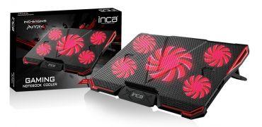 "INCA INC-611 - Silent Gaming Notebookkühler - USB - für 17"""