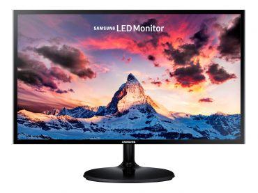 """Samsung SF350 Series S24F350FHU LED-Monitor - 61 cm (24"""") - 1920 x 1080 Full HD - PLS - 250 cd/m² - 1000:1 - 4 ms - HDMI - VGA - Shiny Black"""