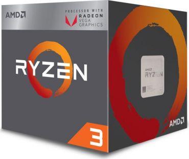 AMD Ryzen 3 2200G - 3.5 GHz - 4 Kerne 4 Threads - 2 MB Cache-Speicher - Socket AM4 - mit Vega-Graphics - Box