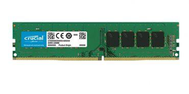 Crucial Memory - DDR4 - 8 GB - DIMM 288-PIN - 2666 MHz / PC4-21300 - CL19 - 1.2 V - ungepuffert - nicht-ECC