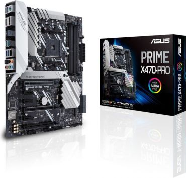 ASUS PRIME X470-PRO - Motherboard ATX - Socket AM4 - AMD X470 - USB 3.1 - Gb LAN - Onboard-Grafik (CPU erforderlich) - HD Audio (8-Kanal)