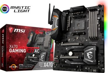 MSI X470 GAMING M7 AC - Motherboard ATX - Socket AM4 - AMD X470 - USB 3.1 - Bluetooth - Gb LAN - Wi-Fi - HD Audio (8-Kanal)