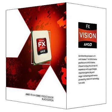 AMD Black Edition - AMD FX 6300 - 3.5 GHz - 6 Kerne - 8 MB Cache-Speicher - Socket AM3+ - Box