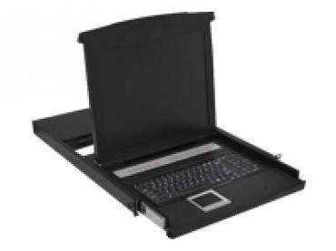 DIGITUS DS-72011GE - KVM-Konsole mit KVM-Switch - 16 Anschlüsse