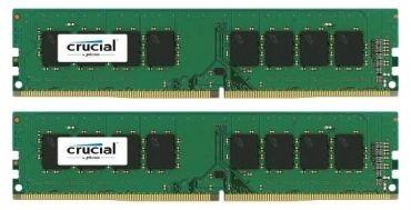 Crucial Memory - DDR4 - 16 GB : 2 x 8 GB - DIMM 288-PIN - 2133 MHz / PC4-17066 - CL15 - 1.2 V - ungepuffert - nicht-ECC