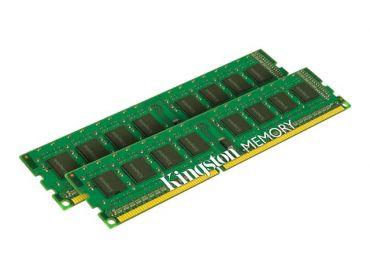 Kingston ValueRAM - DDR3 - 8 GB : 2 x 4 GB - DIMM 240-PIN - 1333 MHz / PC3-10600 - CL9 - 1.5 V - ungepuffert - nicht-ECC