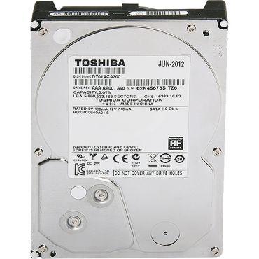 "Toshiba DT01ACA100 - Festplatte - 1 TB - intern - 8.9 cm ( 3.5"" ) - SATA-600 - 7200 rpm - Puffer: 32 MB"