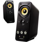 Creative GigaWorks T20 Series II - Lautsprecher - für PC-Heimkino - USB - 28 Watt (Gesamt) - zweiweg - Glanzschwarz