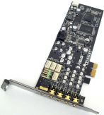 ASUS Xonar DX/XD - Soundkarte - 116 dB S/N - 7.1 - PCIe - Low Profile