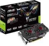 ASUS STRIX-GTX960-DC2OC-2GD5 - Grafikkarten - GF GTX 960 - 2 GB GDDR5 - PCI Express 3.0 x16 - DVI, HDMI, 3 x DisplayPort