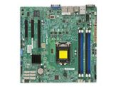 SUPERMICRO X10SLH-F - Motherboard - Mikro-ATX - LGA1150 Socket - C226 - USB 3.0 - 2 x Gigabit LAN - Onboard-Grafik