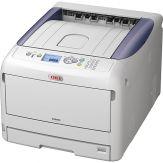 OKI C822n - Drucker - Farbe - LED - A3 - 1200 x 600 dpi - bis zu 23 Seiten/Min. (s/w) / bis zu 23 Seiten/Min.(Farbe) - Kapazität:400 Blätter -USB,LAN