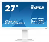 "Iiyama ProLite B2780HSU-W1 - Busin. LED-Monitor - 68.6 cm (27"") - 1920 x 1080 Full HD - TN - 300 cd/m² - 1000:1 - 1 ms - HDMI, DVI-D, VGA - Laut. -Weß"