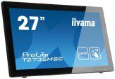 "Iiyama ProLite T2735MSC-B2 - Multi-Touch - 68.6 cm ( 27"" ) - 1080p (FullHD) - 5 ms - DVI, VGA, HDMI - Lautsprecher - Schwarz"
