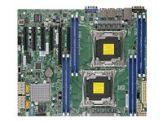 SUPERMICRO X10DRL-i - Motherboard - ATX - LGA2011-v3-Sockel - 2 Unterstützte CPUs - C612 - USB 3.0 - 2 x Gigabit LAN - Onboard-Grafik