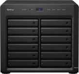 Synology Disk Station DS2415+ - NAS-Server - SATA 6Gb/s - RAID 0, 1, 5, 6, 10, JBOD, 5 Hot Spare, 6 Hot Spare, 10-Hot-Spare, 1 Hot-Spare - iSCSI