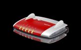 AVM FRITZ!Box 4020 - Wireless Router - 4-Port-Switch - 802.11b/g/n - Single-Band