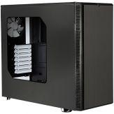 Fractal Design Define R4 - Window - Tower - ATX - ohne Netzteil ( ATX ) - USB/Audio - schallgedämmt - Acrylfenster - schwarz