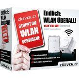 Devolo dLAN 500 WiFi - Starter Kit - Bridge - HomePlug AV (HPAV) - 802.11b/g/n - 2.4 GHz - an Wandsteckdose anschließbar (Packung von 2 )