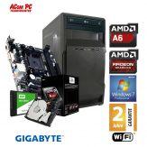ACom Winter Special 2017 V3 - Win 7 Pro - AMD A6-6400K - 8 GB RAM - 120 GB SSD + 1 TB HDD - DVD-Brenner - AMD Radeon HD 8470D - USB 3.0 -WLAN