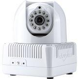 Devolo dLAN LiveCam - Netzwerk-CCTV-Kamera - schwenken / neigen - Farbe ( Tag&Nacht ) - 640 x 480 - HomePlug AV - MJPEG